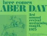 1975 Aber Day Poster
